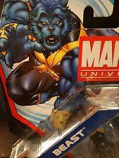 "Marvel Universe 3.75"" ASTONISHING BEAST - UPSIDE DOWN VARIANT - MIP ! Xmen !"