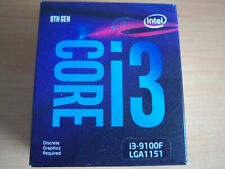 MICROPROCESADOR INTEL I3-9100F 3.6GHZ 1151 BOX