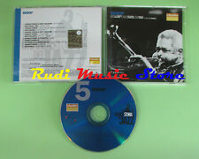 CD GRANDE STORIA JAZZ 5 compilation PROMO 01 PARKER POWELL GILLESPIE (C16*)