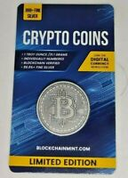 "Münze 999 Silber ""Crypto Series 2020"" ## Bitcoin # Antique Finish ## sehr selten"