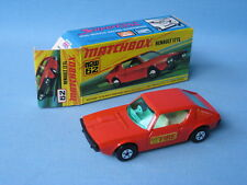 Lesney Matchbox Superfast 62 Renault 17 TL FIRE Labels Boxed Toy Model Car