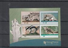 Papua New Guinea 2012 MNH Cuscus & Possums 4v M/S Wild Animals Fauna Gliders