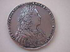 Russland Peter II. 1727-1730. Rubel 1728 Silber Moskau Münzhof Kadaschevsky