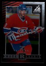 MARK RECCHI CANADIENS #36 Z-SILVER INSERT  SP 97-98 1997-98 PINNACLE ZENITH