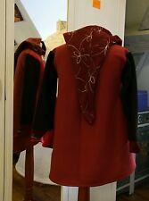 Kinderpullover Mittelalter Kapuze Hoodie Gr.122 128  Fleece Pullover warm