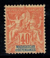 Madagaskar 1896 Yv. 37 Ungebraucht * 100% 40 c