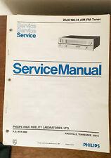 Philips 22AH185 /44 TUNER  Service Manual *Original*