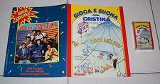 GIOCA E SUONA CON CRISTINA D'AVENA 7 Fascicolo + musicassetta De Agostini 1988