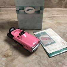 Vintage Hallmark 1956 Pink Kidillac Peddle car 1994 Garton Kiddie Classics