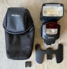 Sony HVL F43M MultiFunction Shoe Mount Flash for Sony with LED Video Lightr