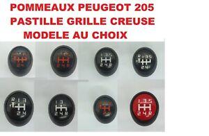 ⭐🇫🇷 POMMEAU BOULE LEVIER DE VITESSE PEUGEOT 205 CT XS GL TD GT SR GR XR XT XRD