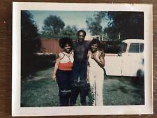 SIX PACK ABS SHEER SHIRT HANDSOME MAN & WOMEN BLACK AFRICAN AMERICAN VTG PHOTO