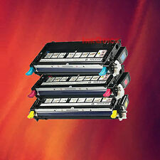 3 Color Toner Combo High Yield for Dell 3110cn 3115cn
