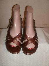 Dansko Metallac Bronze Strappy Sandals  Shoe Size 40 (US 9.5-10 )