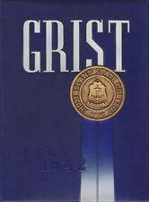 Rhode Island State College University 1942 Grist Yearbook 50th Anniversary
