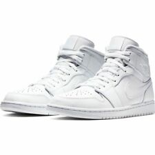 Nike Air Jordan 1 MID White Multi Size US Mens Athletic Shoes Sneakers