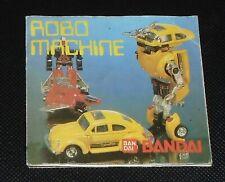 Vintage Bandai Robo Machine Gobots Catalogue
