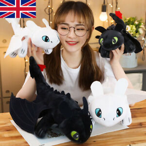 How To Train Your Dragon Toothless Night Fury Light Fury Stuffed Doll Toys Gift