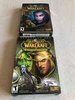 World Of Warcraft Game With Burning Crusade And Extra Manual