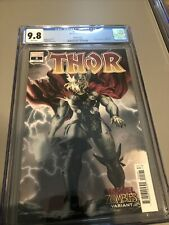 THOR #5 CGC 9.8 1st Print Marvel Zombies cover B First Black Winter