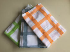 Checked Gingham Tea Towels & Dishcloths