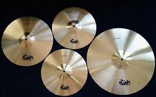 """FLASH Sonic 460 Schlagzeug Beckenset 4-teilig Messing 14""""16""""20"""""""
