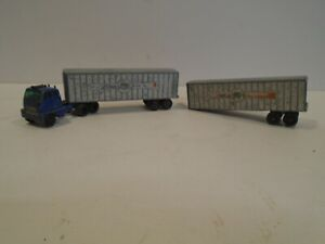 Matchbox Major Pack #9 Interstate Double Freighter Hendrickson Tractor