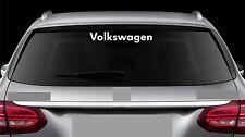 Rear Window Sticker fits Volkswagen Vinyl Decal Car New Emblem Logo RW108
