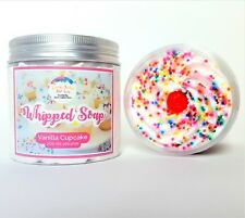 Whipped Soap Fluff Vanilla Cupcake Unique gifts for her Christmas Gifts for her