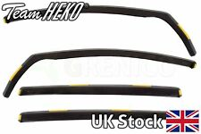 HEKO Tinted wind deflectors 4 pieces VW Sharan mk2 MPV 2010-onwards new