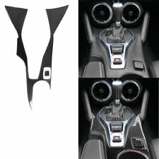 Center control frame decorative Panel Carbon Fiber Sticker For Chevrolet Camaro