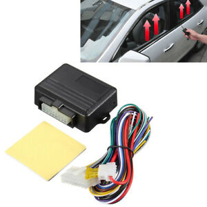 DC 12V Car 4-Door Automatic Safety Power Window Roll Up Closer Module Kit