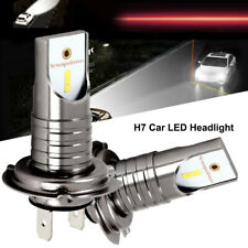 H7 LED Headlight CSP Seoul Chip Bulbs Canbus Error Free Auto Car Driving Lamps