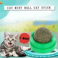 1PC Pet Cat Snack Katzenminze Ball Lick Solid Nutrition Hilfe Verdauung F7I6