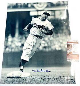 Duke Snider - Brooklyn Dodgers Autographed 16x20 Photograph JSA COA