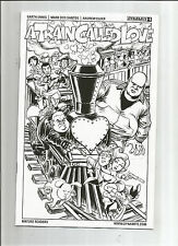 A TRAIN CALLED LOVE #1 Ltd to 1/10 sketch variant by Russell Braun! NM