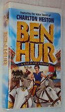 Judah BEN HUR A TALE OF CHRIST VHS OOP Animated Charlton Heston Free Shipping