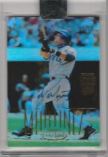 2002 TOPPS ARCHIVES #74 EDGAR MARTINEZ AUTOGRAPH SEATTLE MARINERS 2/12 B057