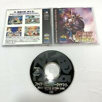 Fighter's History Dynamite Karnov's Revenge NEO GEO CD SNK Japan - US Seller!