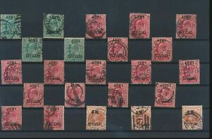 LN18478 Great Britain overprint army official classic lot used