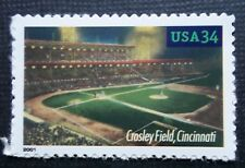 Crosley Cincinnati Reds baseball stadium field US USPS stamp