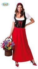 Rotkäppchen Magd Mittelaltermagd Kostüm Damen