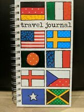 Soul Flags Travel Journal notebook pad Holiday Scrapbook Spiral bound New