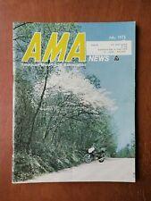 AMA News American Motorcycle Magazine July 1972 -  Harley-Davidson & Yamaha Ad