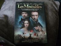 "DVD ""LES MISERABLES"" Hugh JACKMAN Russell CROWE Anne HATHAWAY Amanda SEYFRIED"