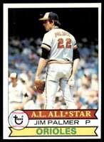 1979 Topps (Njs4) Jim Palmer Baltimore Orioles #340