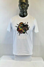 BKYS S/S SHOOK HOLOGRAPHIC T-SHIRT WHITE/MULTICOLOR T136DTWHT