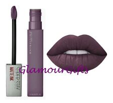 """Maybelline Superstay Matte Ink Lipstick 95 Visionary """"Darkest Plum"""""""