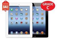 Apple iPad 2nd gen WiFi  16GB 32GB 64GB I Black or White   Grade C