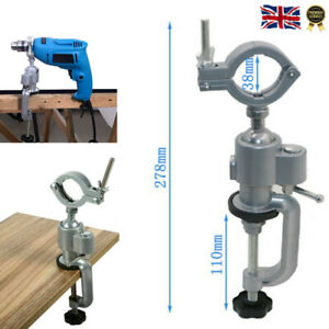 360° Clamp-on Grinder Holder Bench Vise Table Vise for Electric Drill Stand NEW